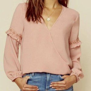 Blue Life Pink Holly Top